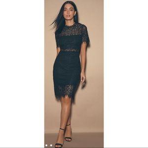 Lulus Remarkable Black Lace Dress Black Size XS